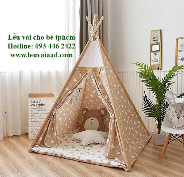 lều công chúa chơi trong nhà