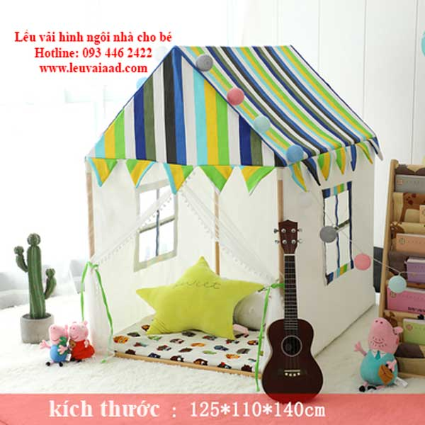 lều hình ngôi nhà cho trẻ nhỏ