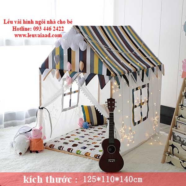 lều vải hình ngôi nhà cho bé