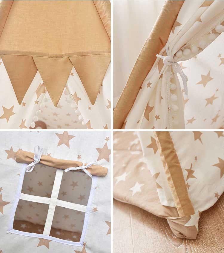 cửa sổ lều có màn chắn